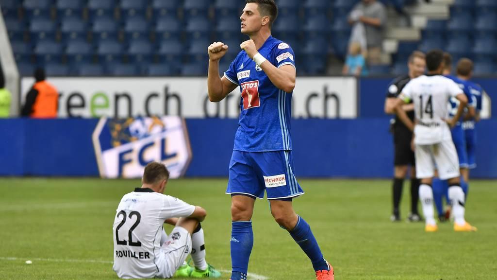 Der FC Luzern siegt zum Saisonstart