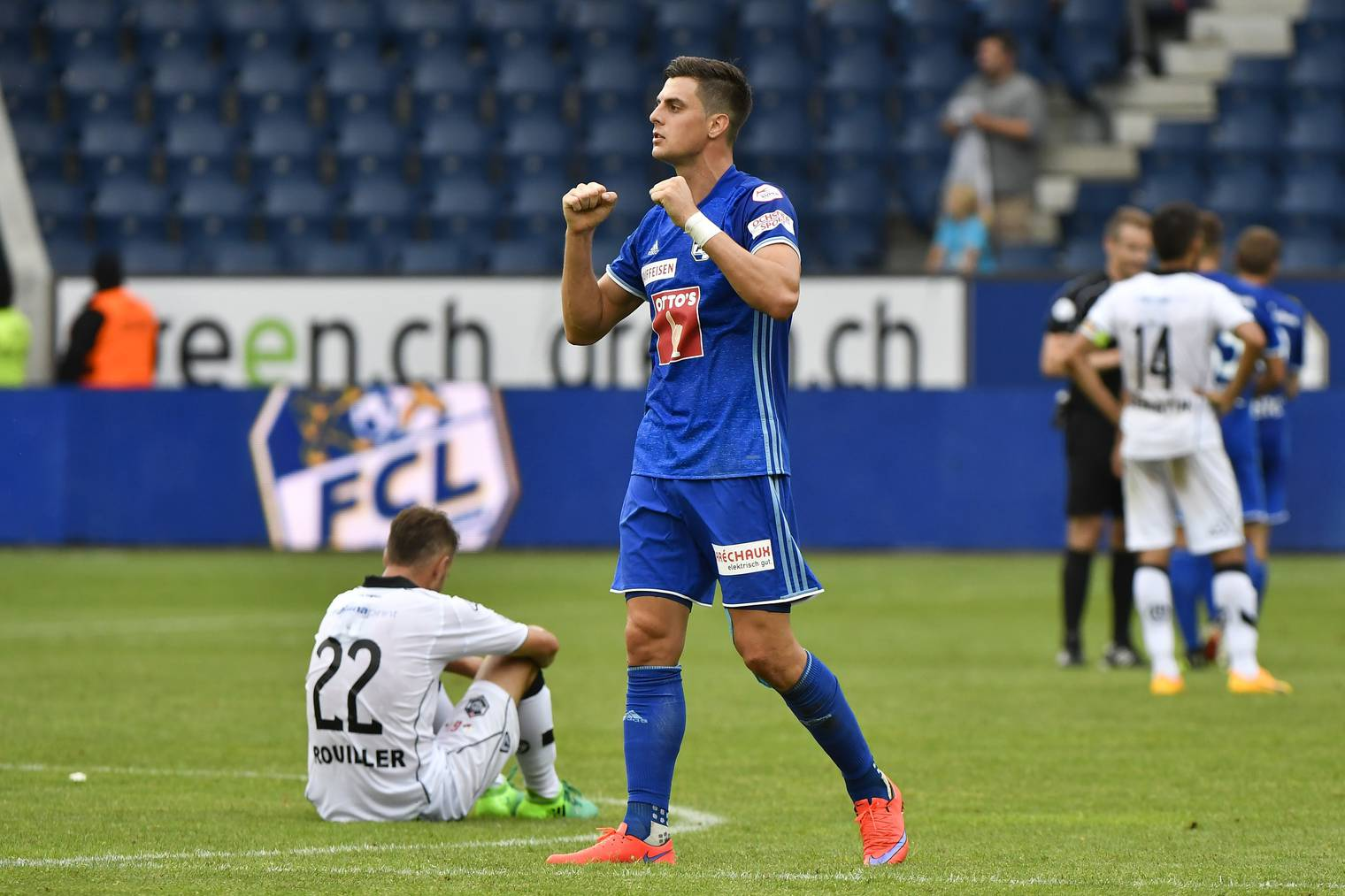 FCL-Stürmer Tomi Juric