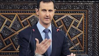 Die Regierung des syrischen Machthabers Baschar al-Assad droht mit einer Offensive (Archiv)