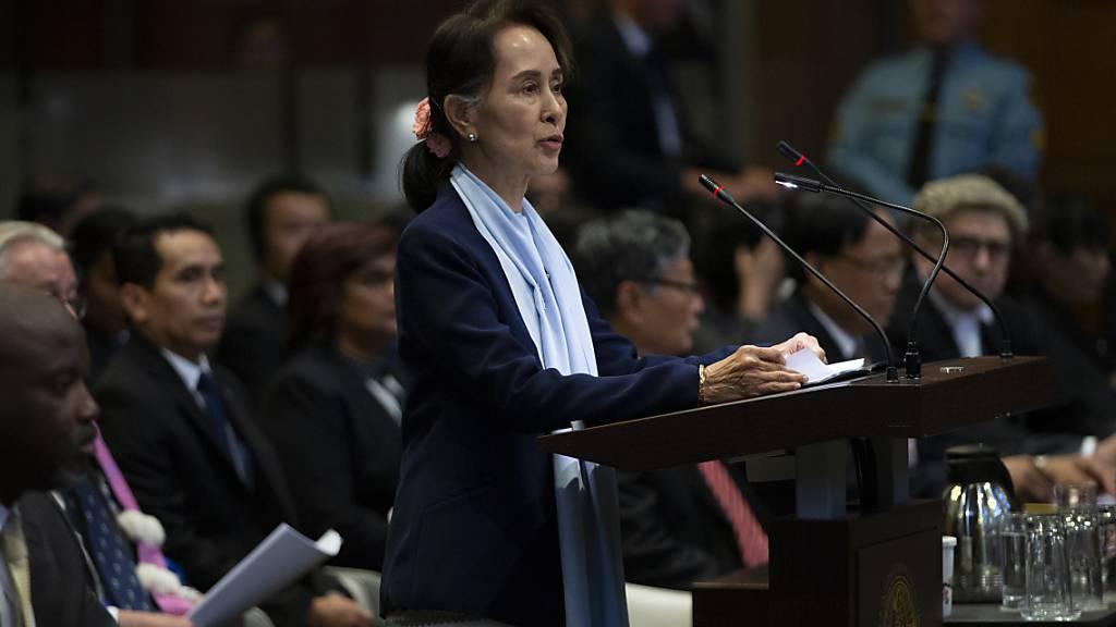 Suu Kyi zweifelt Völkermord-Verfahren gegen Myanmar an