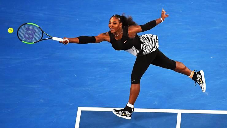 Serena Williams während des Australian-Open-Finals