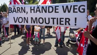 Moutier-Transparent an der 40-Jahr-Feier des Kantons Jura.