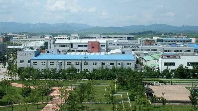 Der Industriekomplex Kaesong, der von Nord- und Südkorea gemeinsam betrieben wird (Archiv)