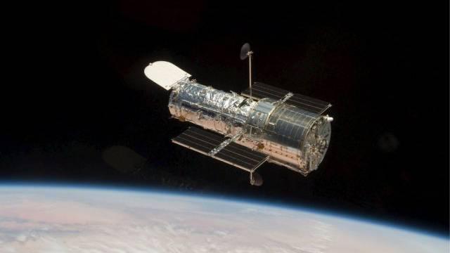 Das Hubble-Teleskop in einer Aufnahme aus dem Jahr 2009