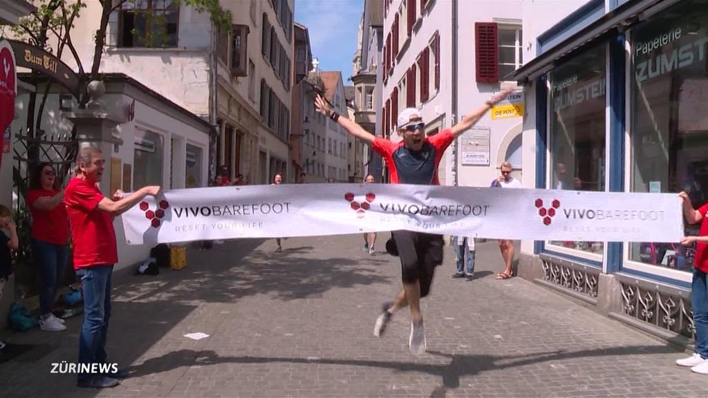 Amerikaner rennt 100 Marathons in 100 Tagen
