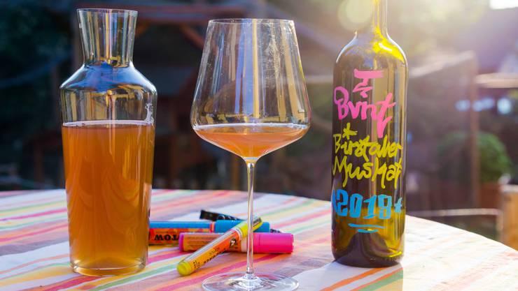 Wein aus Joël Gernets eigenem Garten – ist er geniessbar?