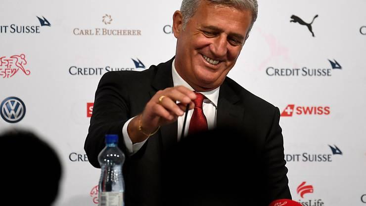 """Vladimir Petkovic zeichnet sich als """"guter Verkäufer"""" der Schweizer Nationalmannschaft aus"""