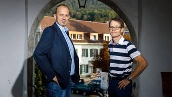 Marc Spirig und Ueli Kölliker wollen beide Gemeindepräsident werden.