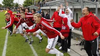 FC Muri steigt in die 1. Liga auf