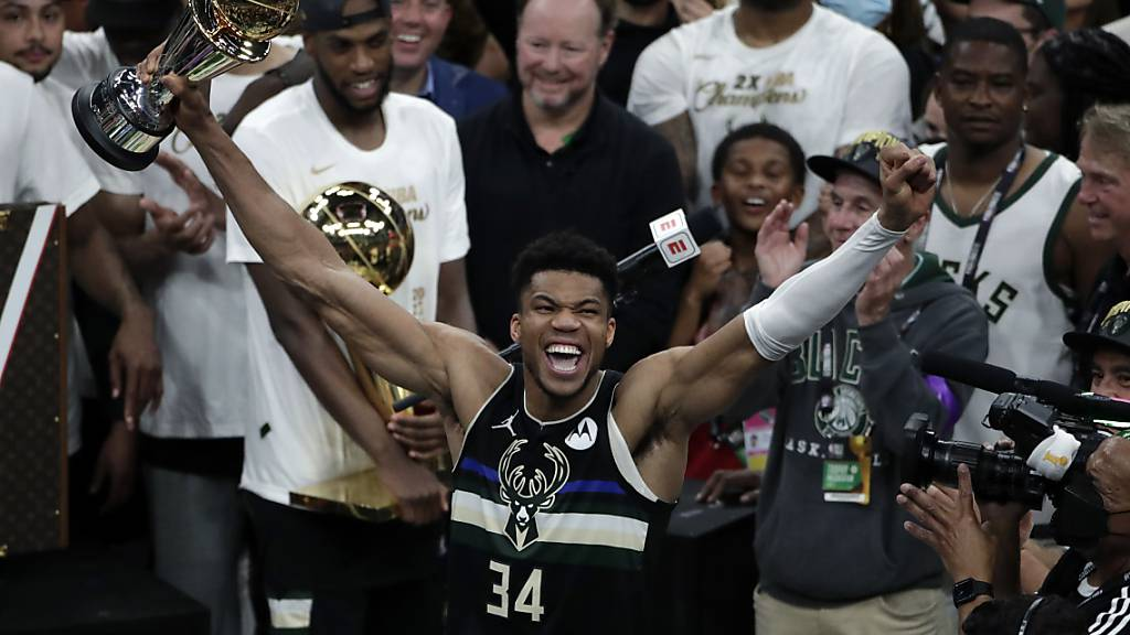 Final-MVP Giannis Antetokounmpo führte die Milwaukee Bucks zum NBA-Titel