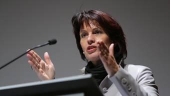 Energiestrategie-Podium mit Doris Leuthard
