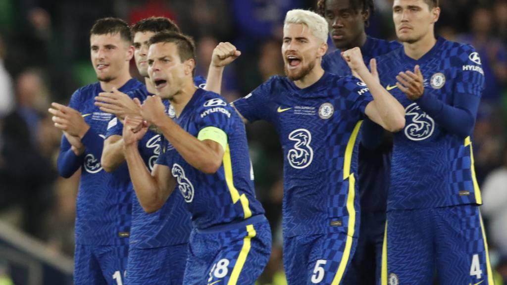 Erster Titel der noch jungen Saison: Chelsea jubelt über den Gewinn des Supercups