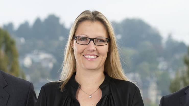 Susanne Thellung (42) ist die einzige Regionalleiterin der UBS in der Schweiz. In der Finanzindustrie geben immer noch vor allem Männer den Ton an. Susanne Thellung hat in dieser Branche Karriere gemacht und das auch, weil sie auf ihre eigenen Stärken setzt. (Archiv)