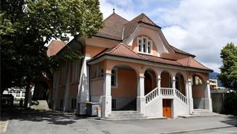 Die Alte Turnhalle Grenchen soll umgebaut werden und künftig die Stadtbibliothek beherbergen.
