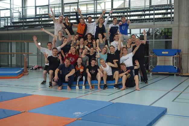 Trainingsweekend Langenthal 2017.