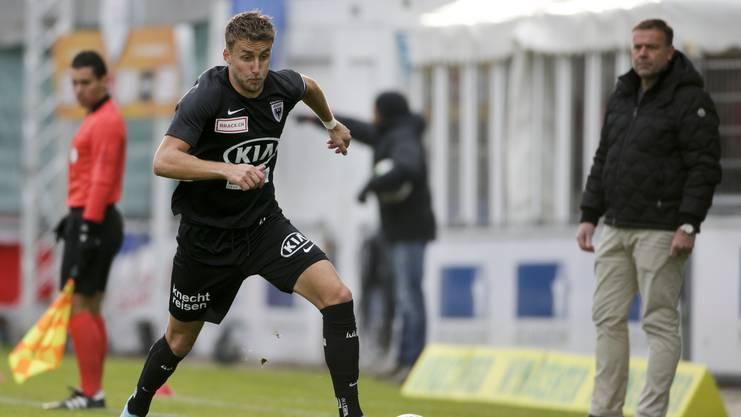 Welche Rolle spielt Mehidic beim FC Aarau in der Rückrunde?