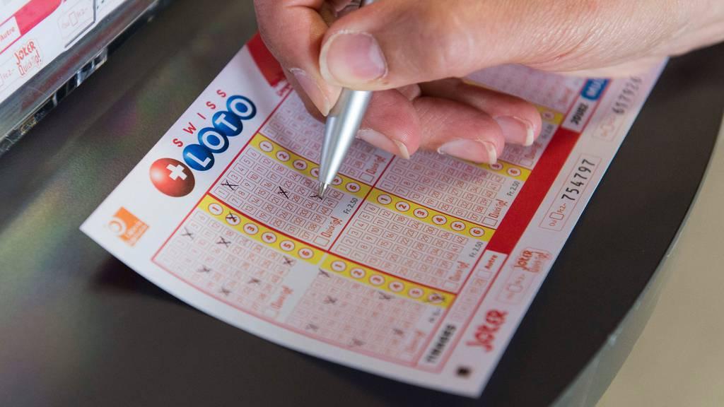 Million nie eingefordert: Swisslos sucht Lotto-Gewinner