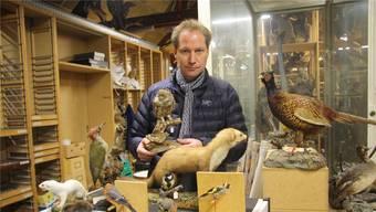 Andreas Schäfer ist stv. Museumsleiter im Naturmuseum Solothurn.(Archivbild)
