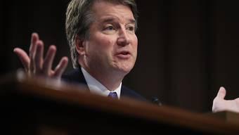 Trumps Supreme-Court-Richterkandiat Brett Kavanaugh befindet sich in einer Schlammschlacht wegen mutmasslichen sexuellen Fehlverhaltens während seiner Studienzeit. (Archivbild)