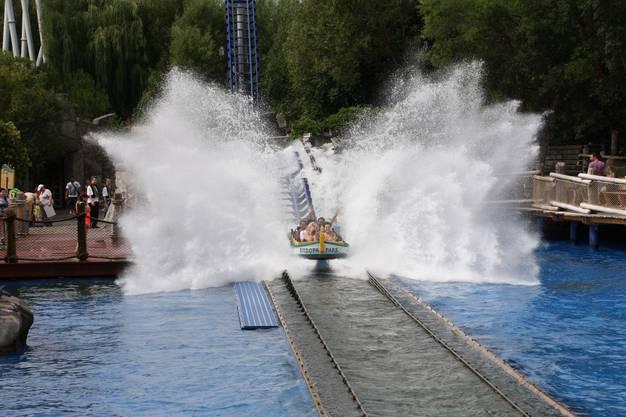 Poseidon Wasserachterbahn