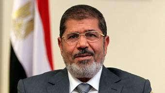 Der ägyptische Präsident Mohammed Mursi in Kairo