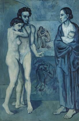 Voller Schmerz: «La Vie» von 1903 zeigt Picassos verstorbenen Künstlerfreund Carles Casagemas.