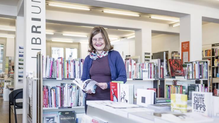 Buchhändlerin Susanne Jäggi hat im Librium stets einen guten Tipp.