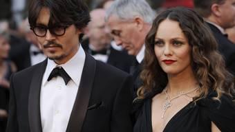 Johnny Depp und Vanessa Paradis sind nicht mehr zusammen (Archiv)