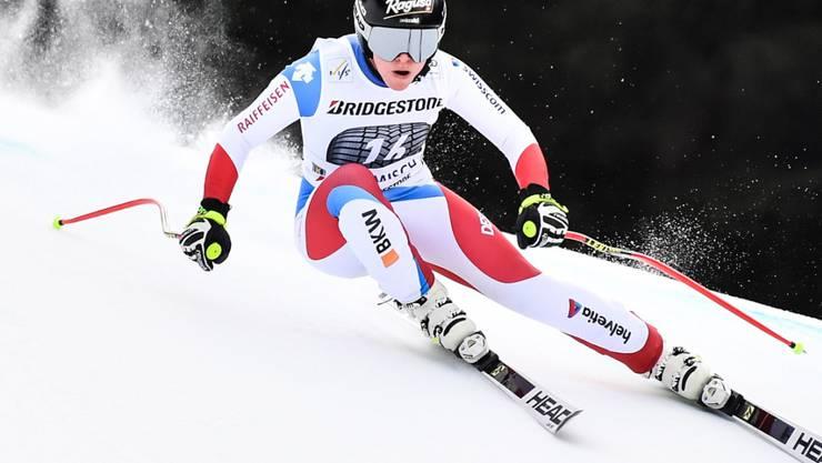 Eine der vier Schweizer Starterinnen im WM-Super-G: Lara Gut-Behrami