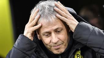 Lucien Favre: Nach knapp zweieinhalb Jahren in Dortmund entlassen.