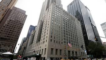 Das Waldorf Astoria Hotel in New York wird wegen Renovationsarbeiten für mehrere Jahre geschlossen. (ARchiv)