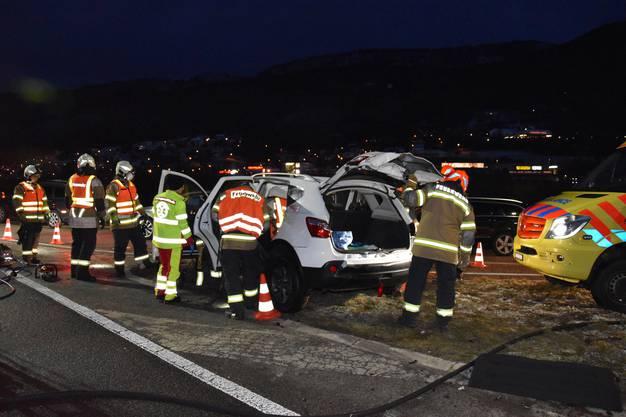 In Egerkingen kam es am Freitagmorgen zu einer Frontalkollision
