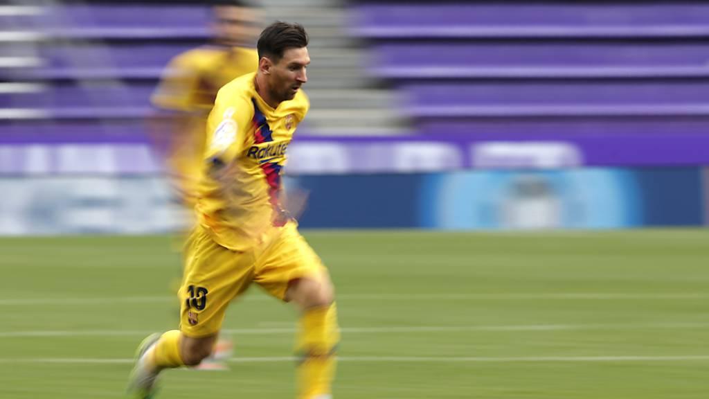 Barcelona knappem Auswärtssieg in Valladolid