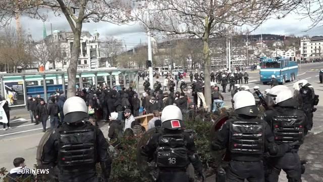 Polizei greift durch