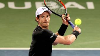 Konzentriert in den Final: Andy Murray