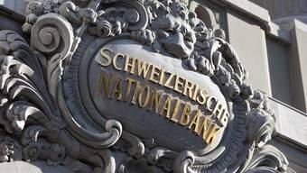 Der Eingang zur Schweizerischen Nationalbank in Bern (Archiv)