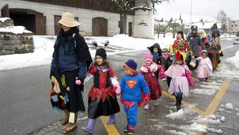 Kinderstrassenfasnacht in Bellach