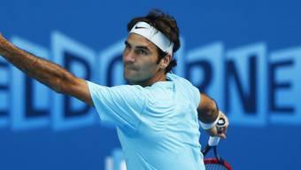 Startet am Montag zum Australian Open 2015: Roger Federer