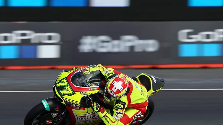 Neue Startzeit am GP Silverstone auch für Dominique Aegerter