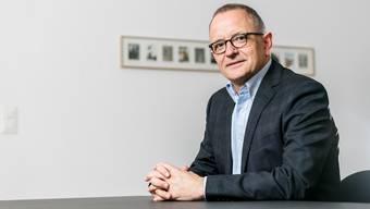 Aaraus Stadtpräsident Hanspeter Hilfiker.