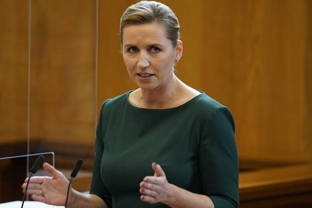 Abstand halten, das ist die «Superwaffe »der dänischen Regierungschefin Mette Frederiksen.