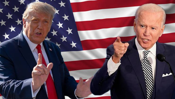 Donald Trump oder Joe Biden - wer gewinnt die Wahl zum US-Präsidenten?