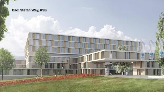 Neues Kantonsspital Baden vorgestellt