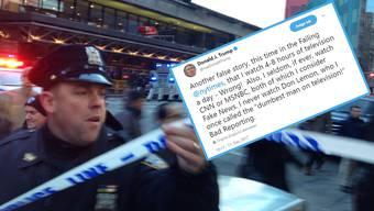 Trump Tweet TV vs Terror