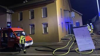Küchenbrand in Wohlen (Januar 2021)