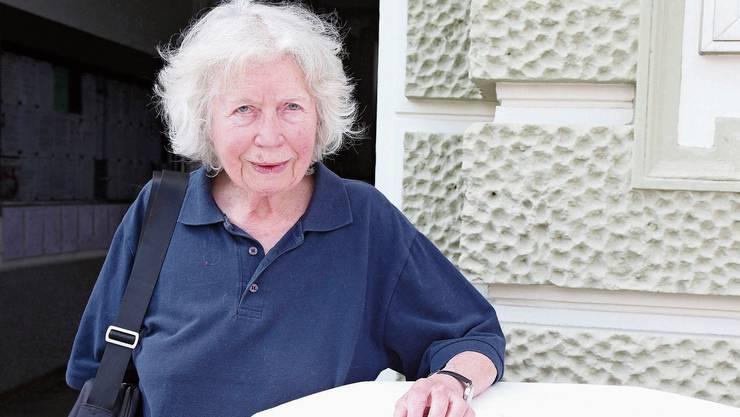 Lotte Ingrisch möchte ihr Leben beenden und erklärt, warum.