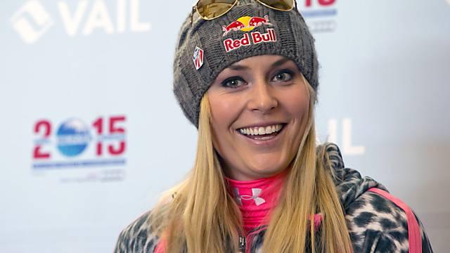 Lindsey Vonn darf endlich wieder Skifahren.