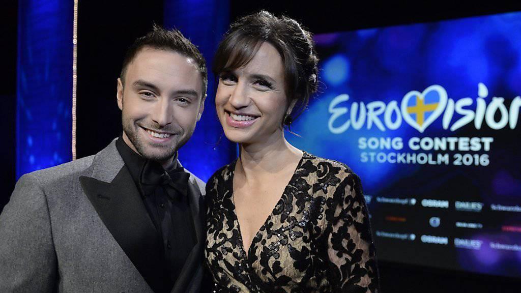 Mans Zelmerlow wird zusammen mit der Komikerin Petra Mede den Eurovision Song Contest von 2016 in Stockholm moderieren.