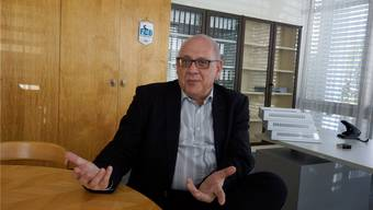 Roland Stadler ist am Sonntag, 11. März, überraschend verstorben. Das Bild zeigt ihn anlässlich seiner 100 Tage im Amt. (Archiv)