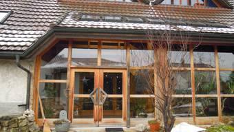 Der Eingangsbereich des «Hauses Tobias» in Niederbipp: Hier sollen Menschen mit schwerer Behinderung misshandelt worden sein.  uby